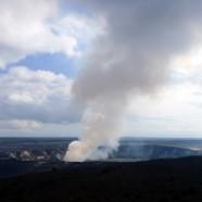 スチームでお肌つるつる?!(2012.01.10 ハワイ島火山・溶岩リポート)