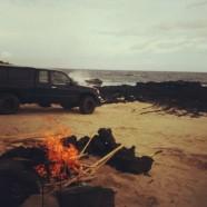 ハワイ島・サウスポイントでキャンプ