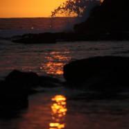 ハワイ島BIG-JINギャラリー:夕暮れのビーチ