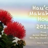 あけましておめでとうございます from ハワイ島ヒロ