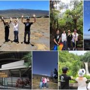 2014.6.8 BIG-JINチャーターでハワイ島観光されたフラガールとプラス1の4人組様より