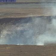 ハワイ島火山・溶岩リポート 7月23日