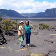 2014.9.13ザ・朝火山ツアーにご参加のハワイ島大好き母・娘様より