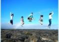 息の合った溶岩ジャンプ!