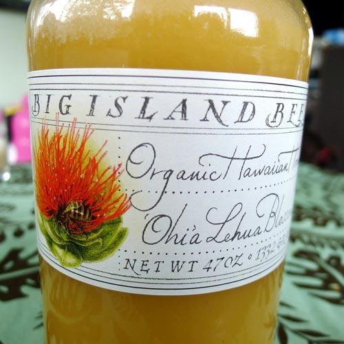 レフアの花から取れた蜂蜜