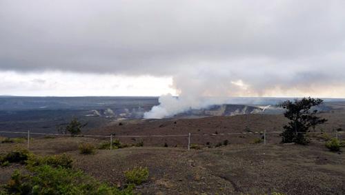 ハワイ島キラウエア火山ハレマウマウ火口
