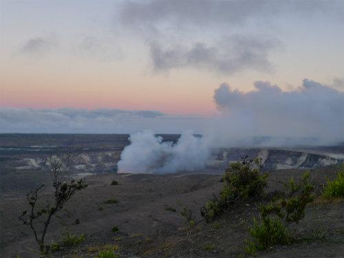ハレマウマウ火口(ハワイ島マイカイ・オハナ・ツアー)