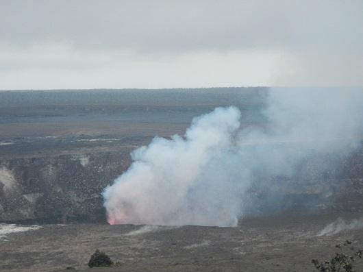 ハワイ島火山・溶岩リポート 4月29日(ハワイ島マイカイオハナツアー)