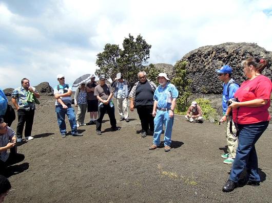 ハワイ火山国立公園の公認ガイド研修に参加してきました!(ハワイ島マイカイオハナツアー)