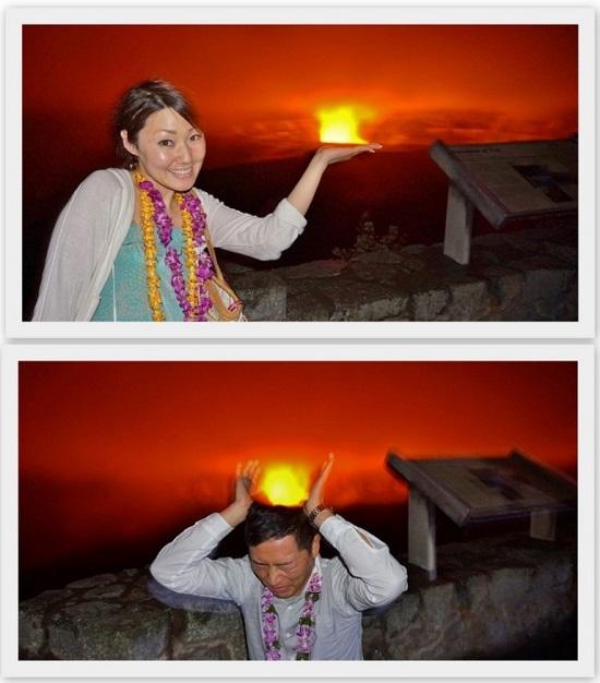 YOSHチャーター(ハワイ島のベストスポットでハネムーンカップルのウェディング姿を撮影!)12