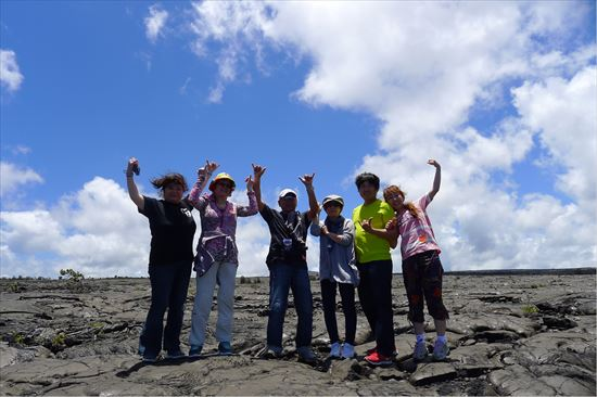 ハワイ島ツアー『ザ・朝火山ツアー』リポート 6月19日(ハワイ島マイカイオハナツアー)