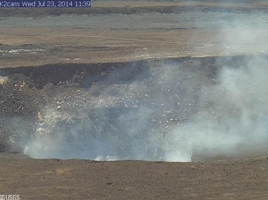 ハワイ島火山・溶岩リポート 7月23日(ハワイ島マイカイオハナツアー)