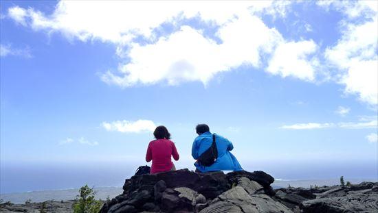 ハワイ島観光ツアー『ザ・朝火山ツアー』リポート 12月22日(ハワイ島マイカイオハナツアー)009