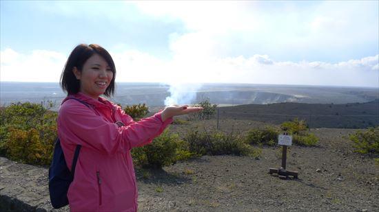 ハワイ島観光ツアー『ザ・朝火山ツアー』リポート 12月22日(ハワイ島マイカイオハナツアー)001