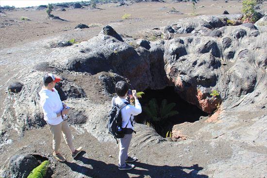 ハワイ島観光ツアー『ザ・朝火山ツアー』リポート 12月7日(ハワイ島マイカイオハナツアー)007