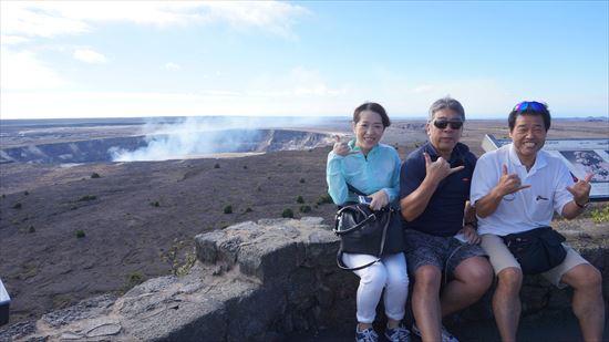 ハワイ島観光ツアー『モーニング・キラウエア』リポート 12月11日(ハワイ島マイカイオハナツアー)001