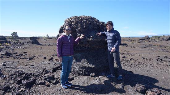 ハワイ島観光ツアー『ザ・朝火山ツアー』リポート 12月15日(ハワイ島マイカイオハナツアー)006