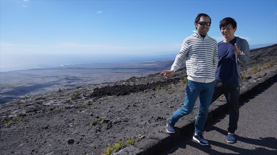 ハワイ島観光ツアー『ザ・朝火山ツアー』リポート 12月15日(ハワイ島マイカイオハナツアー)008