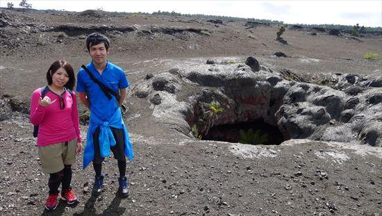ハワイ島観光ツアー『ザ・朝火山ツアー』リポート 12月22日(ハワイ島マイカイオハナツアー)008